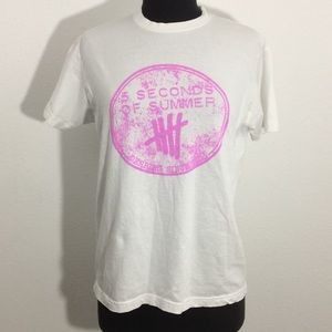 Five Seconds of Summer Graphic Tee Shirt